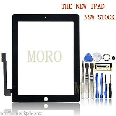 Black iPad 4 4th Gen w/ Retina display Touch Screen Glass Digitizer Replacement