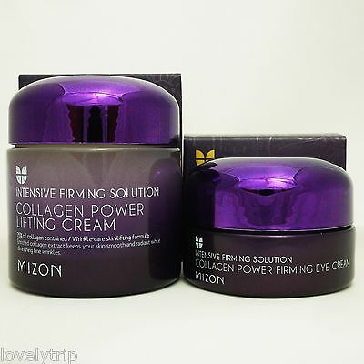 MIZON Collagen Power Lifting Cream 75ml + Collagen Power Firming EYE  Cream 25ml