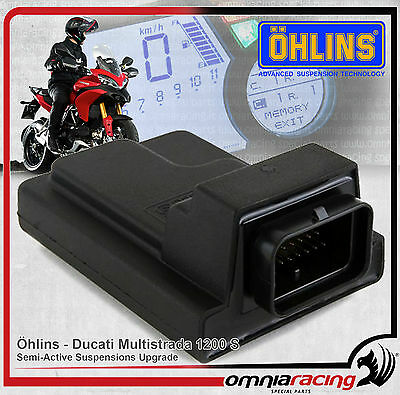 Ohlins SCU - Ducati Multistrada 1200 S 10 14 Semi Active Suspension Upgrade Unit