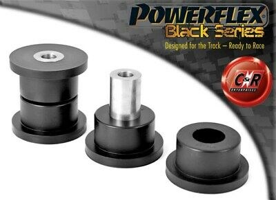 Mazda RX7 Gen 3+4 92-02 Powerflex Black Fr Lower Wishbone Rr Bushes PFF36-302BLK