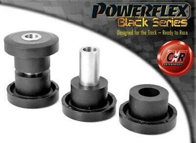 Saab 9-5 (98-10) YS3E Powerflex Black Front Wishbone Front Bushes PFF66-202BLK