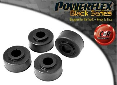 Rover Mini Powerflex Black Front Tie Bar To Chassis Bushes PFF63-103BLK