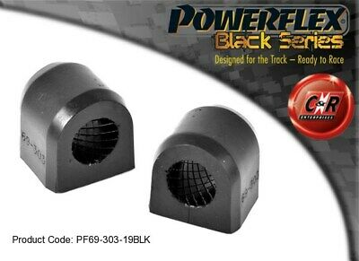 SubaruImprezaT WRX+STi 00-07 Powerflex BlackRrARB-ChassBushes19mm PF69-303-19BLK