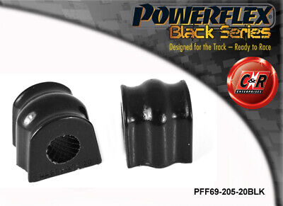 Subaru Legacy BE+BH 98-04 Powerflex Black Front ARB Bushes 20mm PFF69-205-20BLK