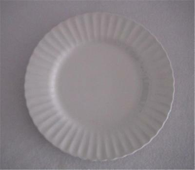 "DINNER PLATE J & G MEAKIN CLASSIC IRONSTONE 10"" MADE IN ENGLAND CHIP"