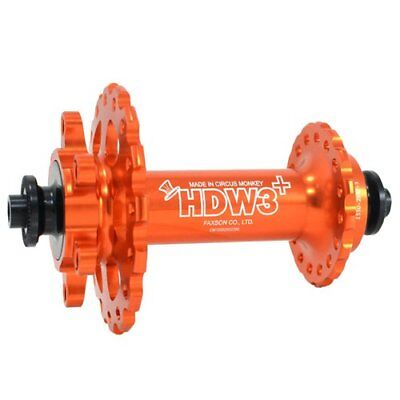 Circus Monkey HDW MTB Front Disc Hub,24 Hole,Red