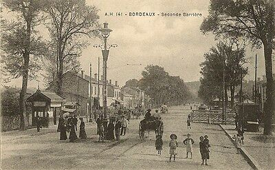 Carte Postale Bordeaux Seconde Barriere