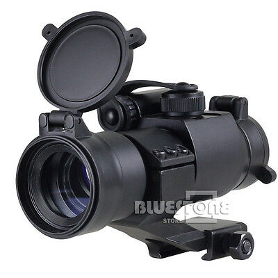 Tactical Holographic 1x 32 M2 Reflex Red / Green Dot Sight Scope Picatinny Rail