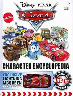 Disney Pixar Cars Character Encyclopedia by Dk Hardcover Book (English)