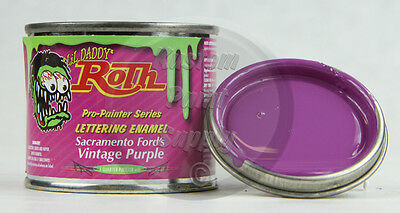 1/4 Pint - Lil' Daddy Roth Pinstriping Enamel - Sac Ford's Vintage Purple