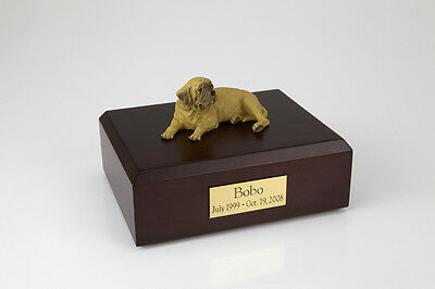 Mastiff Pet Funeral Cremation Urn Available in 3 Different Colors & 4 Sizes