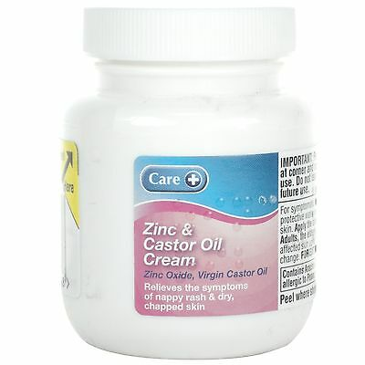 Care Zinc & Castor Oil Cream - 100G *