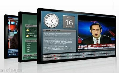 Digital Signage for Employee Communication, Corporate Offices, Lobbies, Hallways