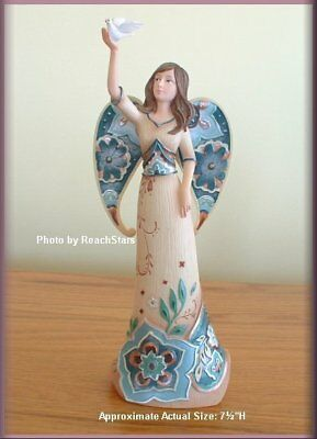 PAVILION PERFECTLY PAISLEY TRANQUILITY ANGEL FIGURINE FREE SHIPPING