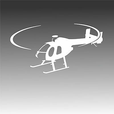 MD 500N Helicopter Inflight Decal MD 500 Notar Pilot Profile Sticker
