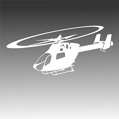 MD 902 In Flight Decal MD902 Pilot  Helicopter Sticker