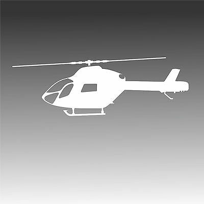 MD 902 Profile Decal MD902 Chopper Helicopter Pilot Crew Sticker