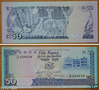 Mauritius Banknote 50 Rupees UNC