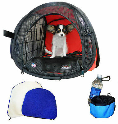"""Pet Kennel / Pet Crate / """"MuttHut"""" - Collapsible, Compact, Foldable (4 Sizes!)"""