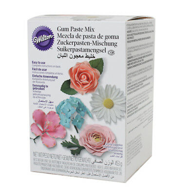Wilton Gum Paste Flower Floral Figures Mix Sugarcraft Cake Decorating 16oz