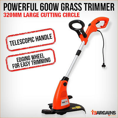 NEW MAX PRO Brush Cutter Whipper Snipper Electric Grass Trimmer Line Brushcutter