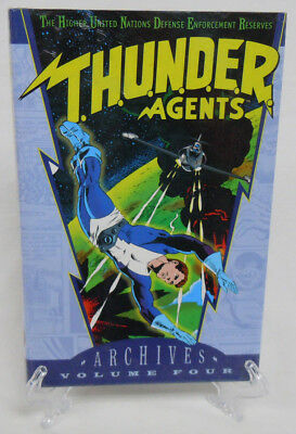 T.H.U.N.D.E.R. THUNDER AGENTS Vol 4 DC Comics Archive Edition Hard Cover Sealed