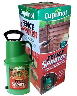 Cuprinol Fence Pump Sprayer Spray Paint Painter Garden - New Boxed