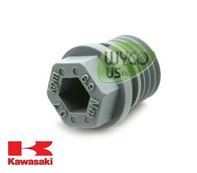 Oil Drain Plug, M20-2.50, 92066-0774, Kawasaki Fh381V-Fh721V, Lawnmowers, 12D5