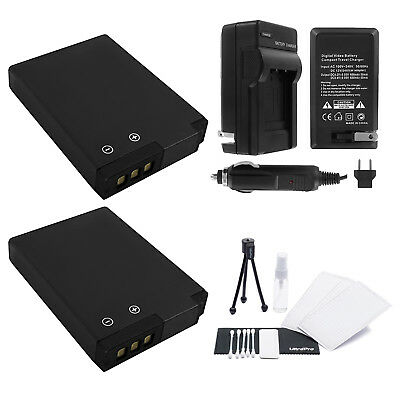 EN-EL12 Battery x2 + Charger for Nikon Coolpix AW100 AW110 P300 P310 P330 S31