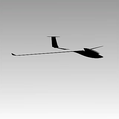Zuni Decal Sailplane Aircraft Glider Pilot Sticker