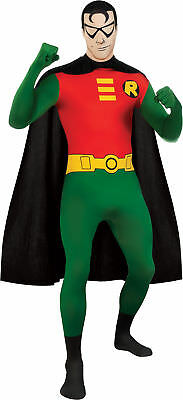 DC COMICS ROBIN SKIN SUIT ADULT MENS COSTUME Movie Superhero Hero Theme Party