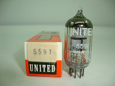 5591 Tube. Branded United Electron. East Europe Production. Nos/Nib. Rc77.