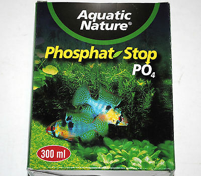 PHOSPHAT STOP PO4 300ml pour filtration aquarium  AQUATIC NATURE  neuf