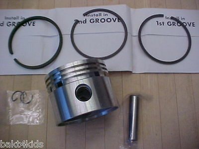 For BRIGGS and STRATTON 5HP Piston / rings,std,010,020