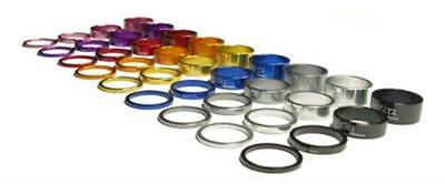 "A2Z Headset Spacers Mountain or Road Bike - 1 1/8"" Stem Stackers Pack of 4 Sizes"