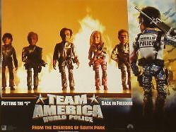 TEAM AMERICA - World Police - 11x14 US Lobby Cards Set - Trey Parker, Matt Stone