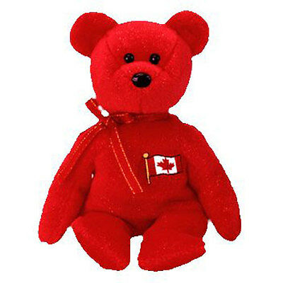 TY Beanie Baby - PIERRE the Bear (Canada Exclusive) (8.5 inch) MWMT's