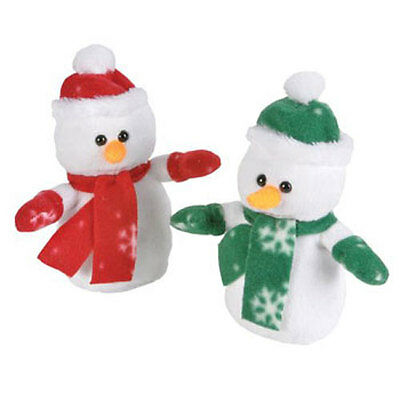 12 x Generic Value Plush - Christmas Holiday - SNOWMAN ( 7 inch ) - New Stuffed