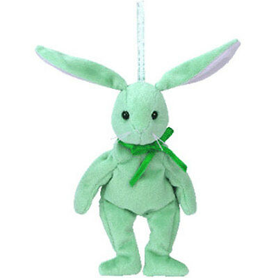 TY Basket Beanie Baby - HIPPITY the Bunny (5.5 inch) - MWMT's Easter Toy