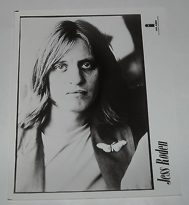 ISLAND RECORDS PROMO B/W PHOTO - JESS RODEN of THE ALAN BROWN SET