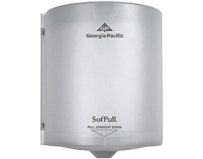 Brand NEW GEORGIA PACIFIC 58217 SOFPULL TOUCHLESS Paper Towel Dispenser WHITE