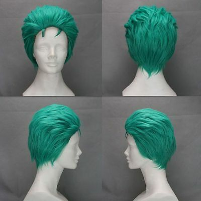 One Piece Cosplay Parrucca Zoro Wig Nuovo Mondo New World Rufy Nami Ace Costume