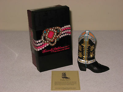 """New Beverly Feldman Just The Right Shoe """"mostly Matiesse"""" Cowboy Boot #25329"""