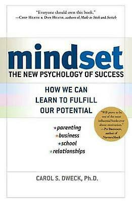 Mindset: The New Psychology of Success by Carol S. Dweck (English) Hardcover Boo