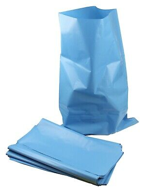 "HEAVY DUTY BLACK / BLUE RUBBLE SACKS / BUILDERS  BAGS / RUBBISH 20"" x 30"""