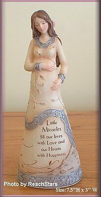 PAVILION ELEMENTS EXPECTANT MOTHER FIGURINE 7.5 INCHES FREE SHIPPING