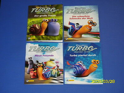 4 Bücher - Turbo Racing Team - Miniausgabe Nr 1 - 4