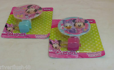 Disney Night Lights Minnie Mouse Or Minnie And Daisy Duck Childrens Lights