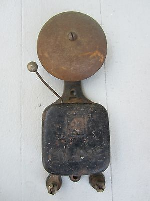 Old PR ECLIPSE Bell Fire Alarm Emergency School Industrial Architectural