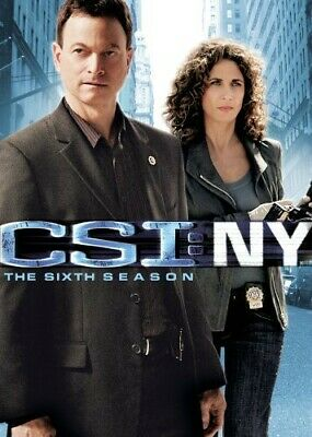 CSI: NY - The Sixth Season [7 Discs] (2010, DVD NEW)